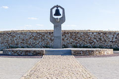 纪念碑Rossoshka公墓的追悼的母亲 免版税库存图片