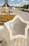 纪念纪念碑火箭星形 图库摄影