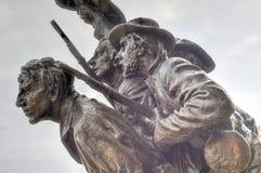 纪念纪念碑,葛底斯堡, PA 图库摄影