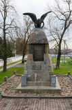 以纪念胜利的纪念碑在战争中1812, Kobrin,白俄罗斯 库存图片
