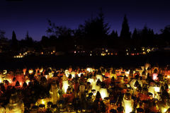 纪念蜡烛 免版税库存照片