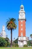 纪念钟塔,布宜诺斯艾利斯 免版税库存照片