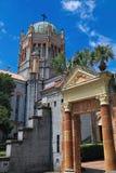 纪念长老会圣奥斯丁佛罗里达侧视图 库存照片