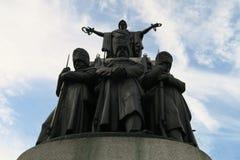 纪念雕塑在伦敦 库存图片