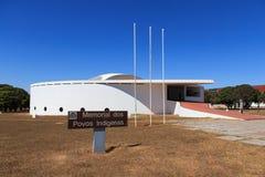 纪念dos Povos Indígenas (印地安人纪念品),巴西利亚, B 免版税库存照片