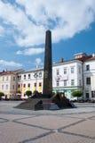 纪念SNP, Banska Bystrica 库存照片