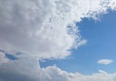 纯净云彩移动 免版税图库摄影