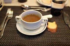 纯净汤 免版税图库摄影