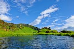 纯净的冰岛自然 免版税库存照片