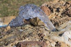 纯净的矿泉水的水源 图库摄影