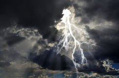 纯净的象征力量的能量和电 免版税图库摄影