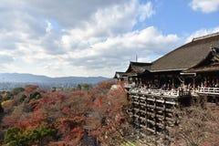 纯净的水寺庙在日本 免版税图库摄影