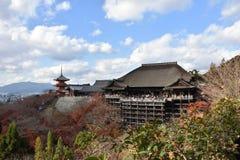 纯净的水寺庙在日本 图库摄影