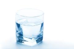 纯净的水玻璃 库存图片