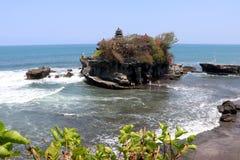 纯净的tana全部寺庙-巴厘岛印度尼西亚 免版税库存图片