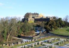 斯特灵城堡,斯特灵,苏格兰 库存照片