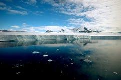 纯的南极洲 免版税图库摄影