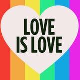 纯的爱 库存例证