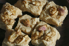纯粹Payra -阿富汗尼的豆蔻果实乳脂软糖 库存照片