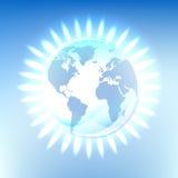 纯能源自然的行星 免版税图库摄影