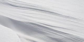 纯雪 免版税图库摄影