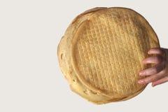 绉纱或薄煎饼 免版税库存图片