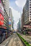 纳丹路, Mongkok,香港 库存图片