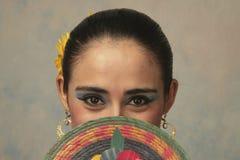纳亚里特州民间舞蹈 图库摄影