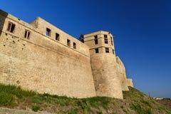 纳伦Kala堡垒门 可汗` s档案馆在Derbent 库存照片