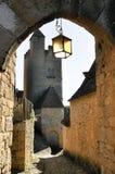 贝纳克和Cazenac,多尔多涅省,法国 免版税库存图片
