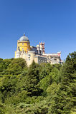 贝纳全国宫殿在辛特拉 免版税库存图片