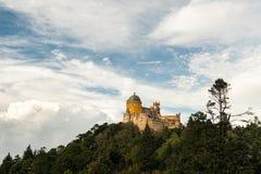 贝纳全国宫殿,葡萄牙,辛特拉 免版税图库摄影
