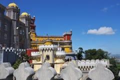 贝纳全国宫殿,葡萄牙 免版税库存照片
