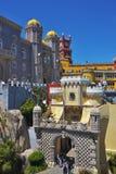 贝纳全国宫殿,葡萄牙 免版税图库摄影