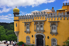 贝纳全国宫殿,葡萄牙 库存照片