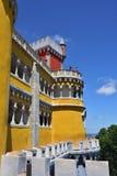 贝纳全国宫殿,葡萄牙 库存图片