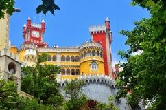 贝纳全国宫殿,葡萄牙 图库摄影