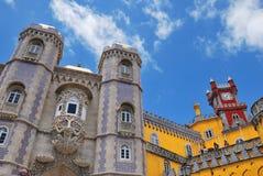 贝纳全国宫殿,葡萄牙 免版税库存图片