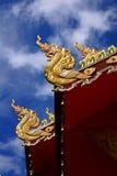 纳卡人屋顶 图库摄影
