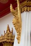 纳卡人的国王或泰国gloden龙 库存图片