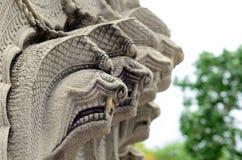 纳卡人雕象 库存照片