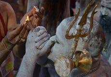 纳卡语Sadhu 免版税图库摄影