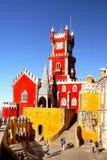贝纳城堡辛特拉,葡萄牙 库存照片