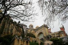 贝纳宫殿辛特拉,葡萄牙 库存图片