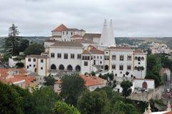 贝纳宫殿,葡萄牙 免版税库存图片