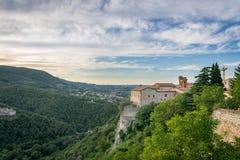纳尔尼,翁布里亚,意大利 免版税库存图片