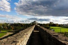 纳尔瓦城堡 免版税库存照片