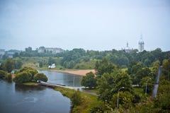 纳尔瓦,爱沙尼亚 库存图片