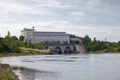 纳尔瓦水力发电的驻地 库存照片