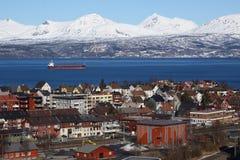 纳尔维克,挪威天旅行 免版税库存照片
